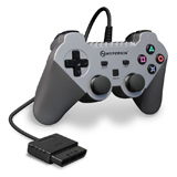 PlayStation 2 Warrior Silver Premium Controller by Hyperkin