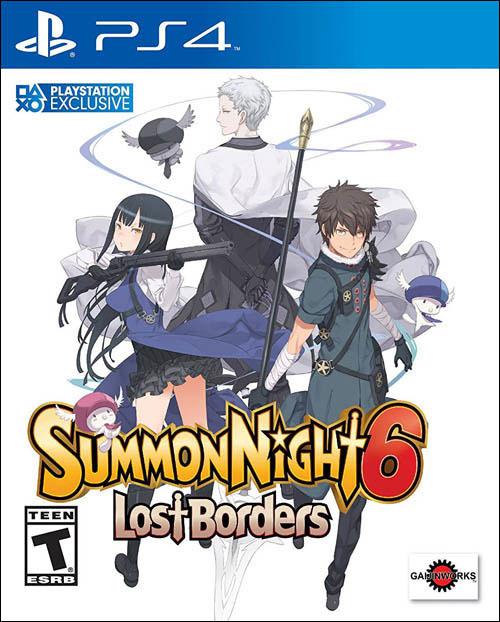Summon Night 6: Lost Borders 1st Edition