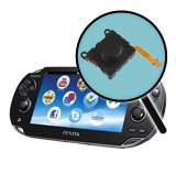 PlayStation Vita Repairs: Analog Stick Replacement Black