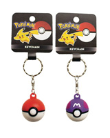 Pokemon Pokeball Backpack Hanger Keychain