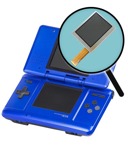 Nintendo DS Repairs: Bottom LCD Screen Replacement Service