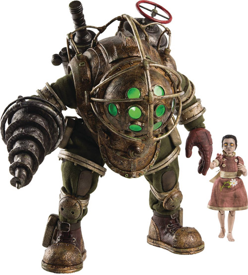 Bioshock: Big Daddy & Little Sister 1/6 Scale Figure