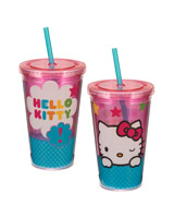 Hello Kitty Stars 18 oz Acrylic Travel Cup