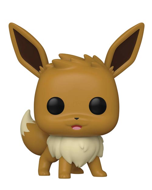 Pop Games Pokemon Eevee Vinyl Figure Standing Version