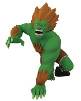 Street Fighter Blanka Unleashed 8.5 Inch PVC Designer Figure