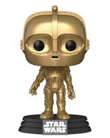 Pop Star Wars C-3PO Concept Art Vinyl Figure