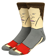 Beavis & Butt-Head 360 Character Crew Socks