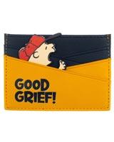 Peanuts Charlie Brown Good Grief Card Wallet