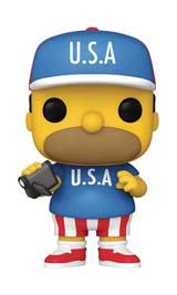 Pop! Animation Simpsons U.S.A. Homer Vinyl Figure