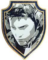Resident Evil Chris Redfield 25th Anniversary Pin