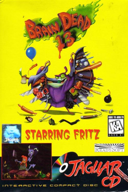 BrainDead 13 Jaguar CD