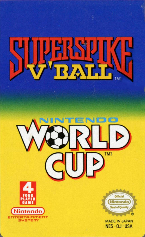 Super Spike V'ball / World Cup Soccer
