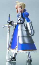 Fate/Stay Night Saber Revoltech Action Figure