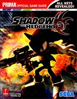Shadow the Hedgehog Official Strategy Guide Book