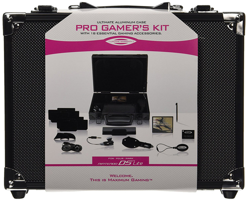 Nintendo DS Pro Gamers Kit Black by Intec