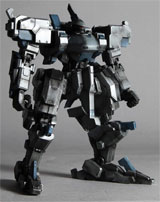 Front Mission Evolved Play Arts Kai Zephyr Action Figure
