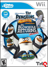 uDraw Penguins of Madagascar: Dr. Blowhole Returns Again!
