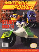 Nintendo Power Magazine Volume 63 Stunt Race FX