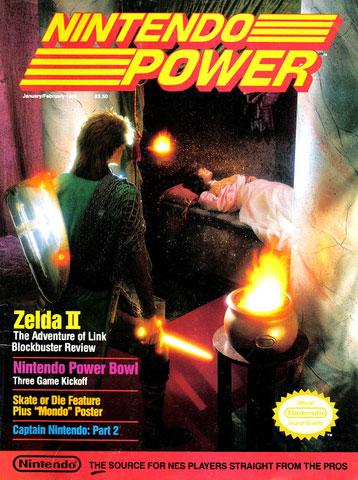 Nintendo Power Volume 4 Zelda II