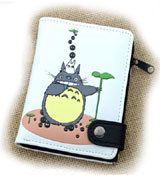 My Neighbor Totoro White Wallet