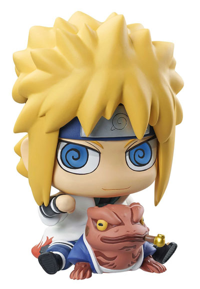 Naruto Shippudend: Minato and Gamabunta ChimiMega Coin Bank Figure