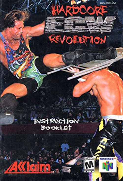 ECW Hardcore Revoloution (Instruction Manual)