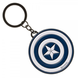 Captain America Civil War Logo Enamel Filled Keychain