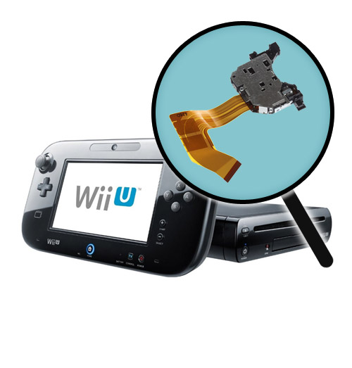 Nintendo Wii U Repairs: Laser Pickup Replacement Service