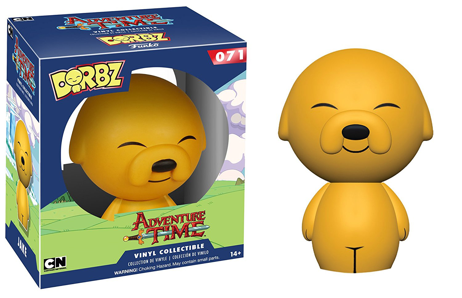 Dorbz Adventure Time Jake Vinyl Figure