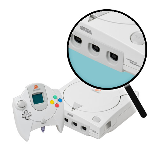 Dreamcast Repairs: Controller Port Replacement Service