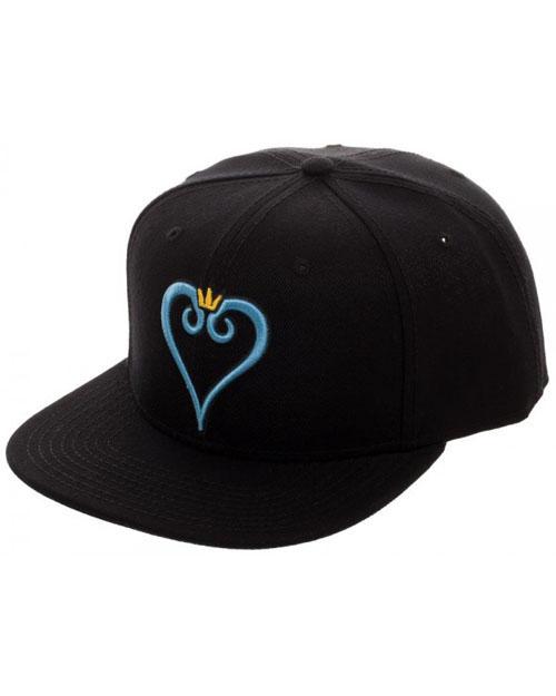 Kingdom Hearts Heart Embroidery Snapback