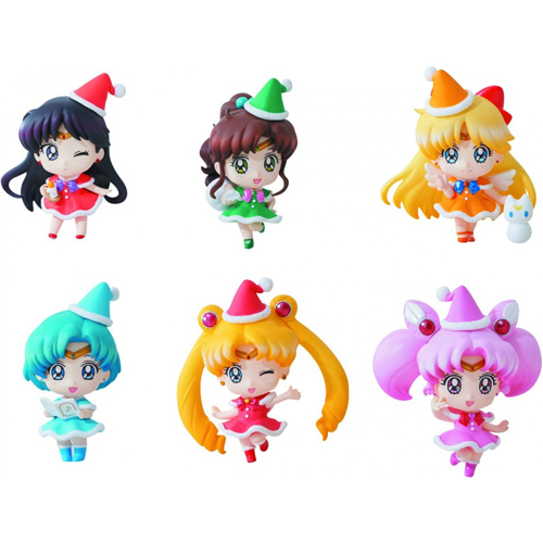 Sailor Moon Petit Chara Christmas Special Figure Set