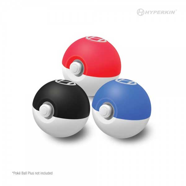 Silicone Trainer Shiels for Pokeball Plus Hyperkin colors