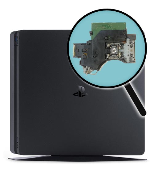 PlayStation 4 Slim Repairs: Laser Pickup Replacement Service