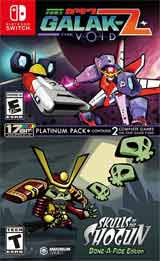 Galak-Z: The Void / Skulls of the Shogun Bone-A Fide Platinum Pack
