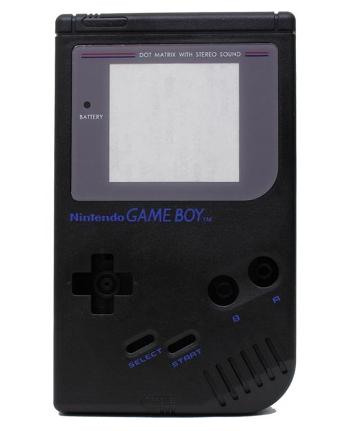 Game Boy Housing Shell Replacement Service Black