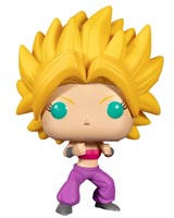 Pop Animation Dragon Ball Super SSJ Caulifla Vinyl Figure