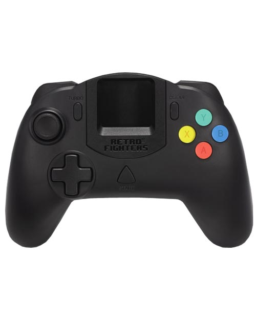 Dreamcast StrikerDC Black Controller by Retro Fighters