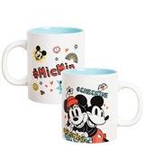 Disney Mickey & Minnie 16 oz Ceramic Mug