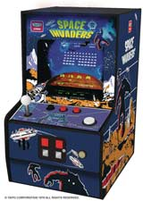 Retro Space Invaders 6.75 Inch Micro Arcade Player