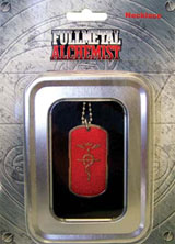 FullMetal Alchemist: Red Edward's Symbol Dog Tag