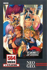 Rage of the Dragons Neo Geo AES