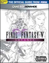 Final Fantasy V Advance Official Player's Guide