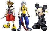 Kingdom Hearts: Play Arts 3 Figures Set