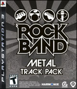 Rock Band Metal Track Pack