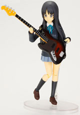 K-On! Mio Akiyama Mobip PVC Figure