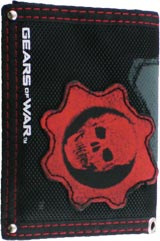 Gears of War Red Omen Emblem Tri-Fold Wallet
