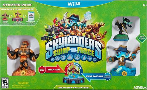 Skylanders Swap Force Starter Pack