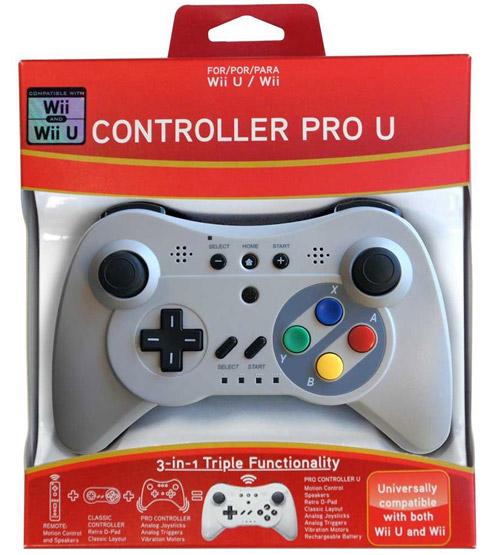 Wii U Controller Pro U Classic