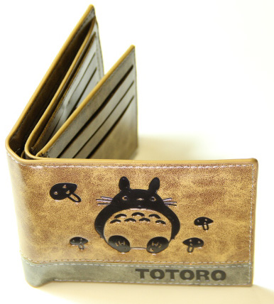 My Neighbor Totoro Wallet Brown